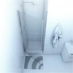 DUSO - Drzwi wnękowe uchylne pojedyncze 80x195  DS202T