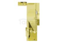VEDO - Zestaw natryskowy podtynkowy IV DESSO ORO złoto deszczownica 250mm  VBD4224/25/ZL