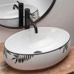 REA - Umywalka ceramiczna nablatowa SHILA