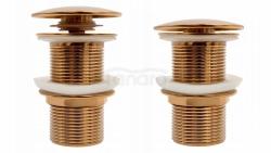 REA - Korek klik klak rose gold/różowe złoto z przelewem