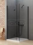 NEW TRENDY Kabina prysznicowa składana NEW SOLEO BLACK 90x70x195