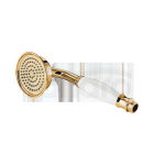 OMNIRES - Słuchawka rączka prysznicowa Retro złota/gold ARMANCE-RGL