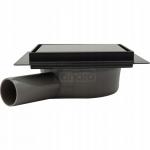 REA - Odpływ liniowy Pure Neo 15x15cm Black Pro CZARNY