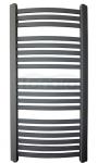 GAMABIK - Grzejnik łazienkowy KUMIKO 950/540 ANTRACYT moc 429W