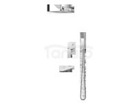 VEDO - Zestaw natryskowy podtynkowy z wylewką wannową I MITO VBM3231 300x300