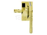 VEDO - Zestaw wannowy podtynkowy III DESSO ORO złoto  VBD4243/ZL
