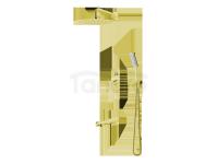 VEDO - Zestaw wannowo-natryskowy podtynkowy I DESSO ORO złoto deszczownica 250mm  VBD4231/25/ZL