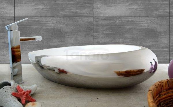 REA - Umywalka Ceramiczna  ROXY SILVER