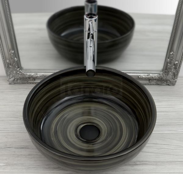 REA - Umywalka ceramiczna nablatowa CLAUDIA