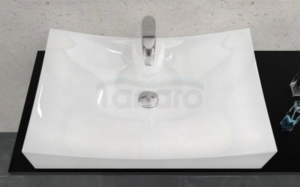 REA - Umywalka blatowa ceramiczna Impero N