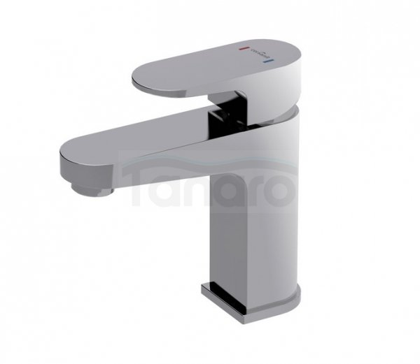 CERSANIT - Bateria umywalkowa stojąca z korkiem automatycznym klik-klak VIGO DESIGN S951-049
