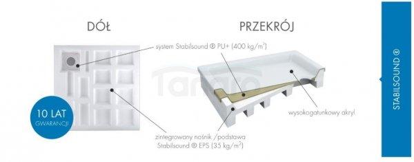 Schedpol - Brodzik prostokątny COMPETIA 90x100x14 3.0168
