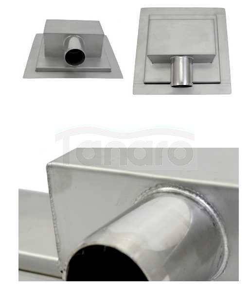BWTECH- ODPŁYWY podłogowe Punktowe dwustronny ruszt 2w1 K21200 200X200X79mm