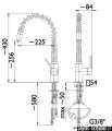 KFA SIGMA bateria zlewozmywakowa CHROM   6603-110-00