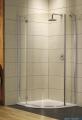 Torrenta PDJ Radaway kabina półokrągła 80x80 lewa szkło przejrzyste