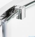 New Trendy New Praktic Kabina prysznicowa kwadratowa z drzwiami przesuwnymi 90x90x195 przejrzyste K-0466
