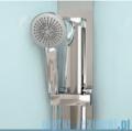 Novellini Glax 3 kabina prysznicowa masażowo-parowa 100x80 prawa srebrny GL3A100DM1N-1B