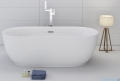 Corsan Olvena wanna wolnostojąca 169x79 cm biała + syfon aranżacja