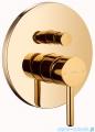 Omnires Y podtynkowy zestaw prysznicowy złoty SYSY19GL