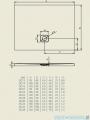 Riho Brodzik kwadratowy BASEL 412 90x90x4,5cm DC22