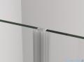 SanSwiss Cadura Black Line drzwi wahadłowe 110cm dwuczęściowe profile czarny mat CA2C1100607