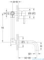 Omnires Y bateria umywalkowa podtynkowa chrom Y1215NCR