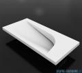 Vayer Bumerang 50x24cm Umywalka prostokątna blatowa