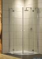 Radaway Torrenta PDD kabina półokrągła 90x90 szkło przejrzyste