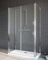 Radaway Eos II DWD+2S Drzwi prysznicowe 80x197 szkło przejrzyste