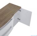 Elita Rolly komoda 40x56x42cm biały połysk 167712