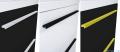 Elita Kwadro Plus słupek wiszący 30x150x23cm biały połysk 164590