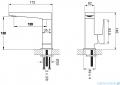 Omnires Fresh bateria umywalkowa sztorcowa chrom FR7110NCR