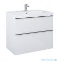 Elita Look szafka z umywalką 80x63x45cm biały połysk 167081/145840
