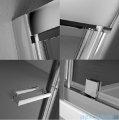 Radaway Twist DW+S Kabina prysznicowa 90x90 szkło przejrzyste 382002-01/382012-01