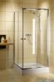 Radaway Classic C Kabina prysznicowa kwadratowa z drzwiami przesuwnymi 80x80 szkło grafitowe