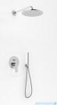 Kohlman Proxima zestaw prysznicowy z deszczownicą 25cm chrom QW210PR25