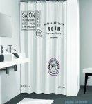 Sealskin Savon de Provance - biała zasłona prysznicowa tekstylna 180x200cm 233321310
