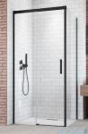 Radaway Idea Black Kdj drzwi 140cm lewe szkło przejrzyste 387044-54-01L
