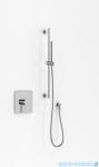 Kohlman Gixs zestaw prysznicowy na drążku chrom QW220GSP4