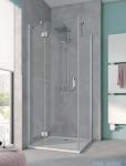 Kermi Osia Ściana boczna, szkło przezroczyste, profile srebrne 120x200cm OSTWD12020VPK