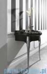 Kerasan Retro Stolik czarny pod umywalkę nogi złote 7362K3