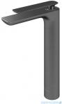 Kohlman Experience gray bateria umywalkowa wysoka szczotkowany grafit QB170EG