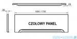 Ravak Przedni panel A 170 do wanien CZ001V0A00