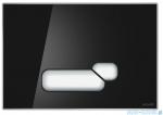 Cersanit Actis przycisk spłukujący 2-funkcyjny szkło czarne S97-018