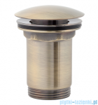 Omnires korek klik-klak do syfonu umywalkowego brąz antyczny A706BR