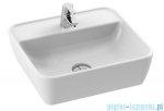 New Trendy Umywalka nablatowa 46x42 cm biała U-0073