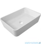 Omnires Parma umywalka nablatowa 50x35cm biały połysk PARMAUNBP