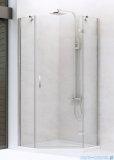 New Trendy New Azura kabina pięciokątna 90x90x195cm przejrzyste prawa+brodzik K-0338/B-0366/S-0023