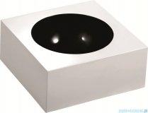Marmorin Rea 40 umywalka nablatowa z otworem biała / czarna miska 201040020011