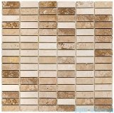 Dunin mozaika kamienna 30x30 travertine block mix 48